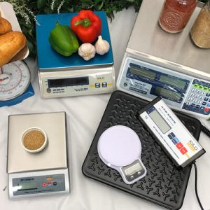 digital and dial food scales